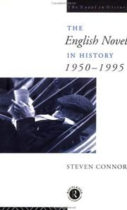 Cover of: The English Novel In History | Professo Connor