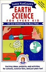 Cover of: Earth Science for Every Kid