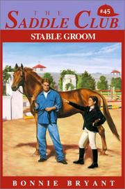 Cover of: Stable Groom