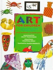 Cover of: Art for Children | Moira Butterfield