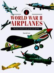 Cover of: Identifying World War II Airplanes | David Lee