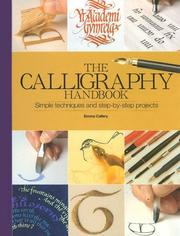 Cover of: The Calligraphy Handbook | Emma Callery