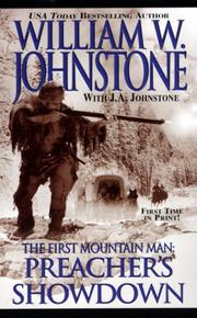 Cover of: First Mountain Man | William W. Johnstone
