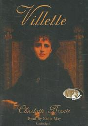 Cover of: Villette | Charlotte Brontë