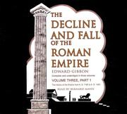 Cover of: The Decline and Fall of the Roman Empire | Edward Gibbon