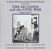 Cover of: The Sections and the Civil War | Clarence B. Carson