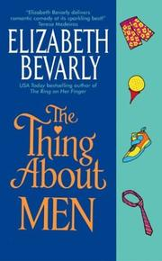 Cover of: The thing about men | Elizabeth Bevarly