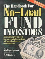 Cover of: The Handbook for No-Load Investors