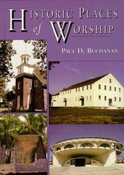 Cover of: Historic Places of Worship