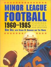 Cover of: Minor League Football, 1960-1985 | Bob Gill