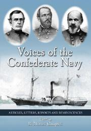 Cover of: Voices of the Confederate Navy