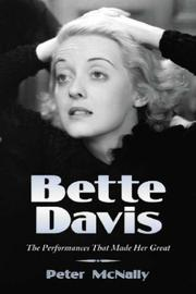 Cover of: Bette Davis