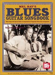 Cover of: Mel Bays Blue Guitar Songbook