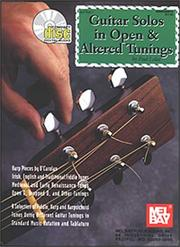 Cover of: Guitar Solos in Open & Altered Tunings | Paul Loxax