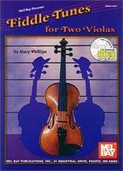 Cover of: Mel Bay Fiddle Tunes for Two Violas | Stacy Phillips