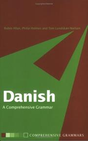 Cover of: Danish by Robin Allan