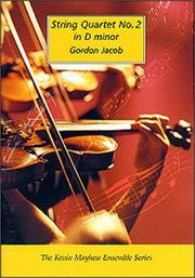 Cover of: String Quartet No. 2 in D Minor By Gordon Jacob
