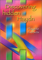 Cover of: Discovering Hidden Haydn |