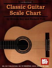 Cover of: Mel Bay Classic Guitar Scale Chart | William Bay