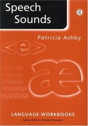 Cover of: Speech sounds