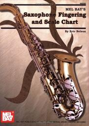 Cover of: Mel Bay Saxophone Fingering & Scale Chart