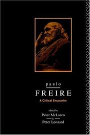 Cover of: Paulo Freire