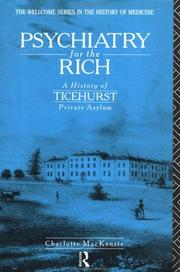 Cover of: Psychiatry for the Rich