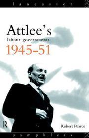 Attlees Labour governments, 1945-51
