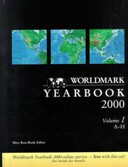 Cover of: Worldmark Yearbook 2000 (Worldmark Yearbook) | Gale Group