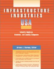 Cover of: Infrastructure Industries USA | Arsen J. Darnay