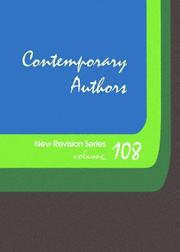 Cover of: Contemporary Authors: New Revision Series | Scot Peacock
