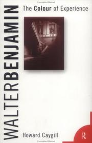 Cover of: Walter Benjamin