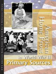 American home front in World War II : Primary sources