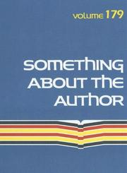 Cover of: Something About the Author v. 179 |