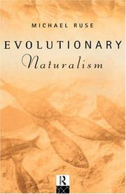 Cover of: Evolutionary naturalism: selected essays
