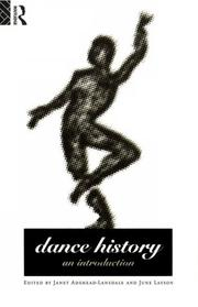 Cover of: Dance History | Janet Layson