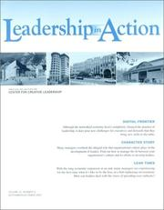 Cover of: Leadership in Action, No. 4, 2001