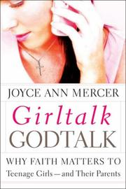 Cover of: GirlTalk/GodTalk | Joyce Ann Mercer