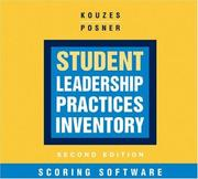 Cover of: Student Leadership Practices Inventory Scoring Software (The Leadership Practices Inventory)