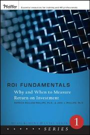 Cover of: ROI Fundamentals | Patricia Pullian Phillips