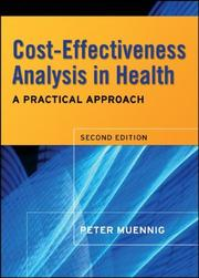 Cover of: Cost-Effectiveness Analysis in Health | Peter Muennig