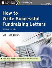 Cover of: How to Write Successful Fundraising Letters (The Mal Warwick Fundraising Series)