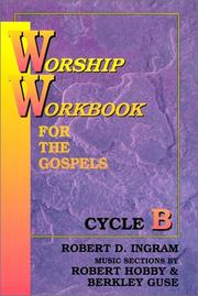 Cover of: Worship Workbook for the Gospel | Robert D. Ingram