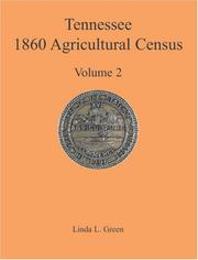 Cover of: Tennessee 1860 Agricultural Census
