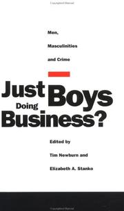 Cover of: Just Boys Doing Business?
