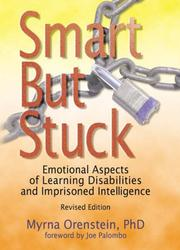 Cover of: Smart but Stuck | Myrna Orenstein