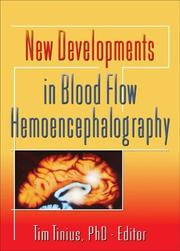 Cover of: New Developments In Blood Flow Hemoencephalography | Tim Tinius