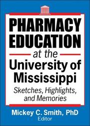 Cover of: Pharmacy Education at the University of Mississippi