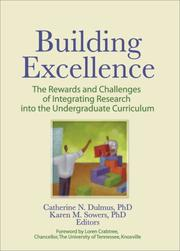 Cover of: Building Excellence |