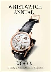 Cover of: Wristwatch Annual 2002 | Peter Braun